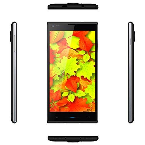 "Unlocked Doogee550 DG550 5.5"" Android 4.4 Octa-core 1+16GB Smartphone (US Standard Black)"