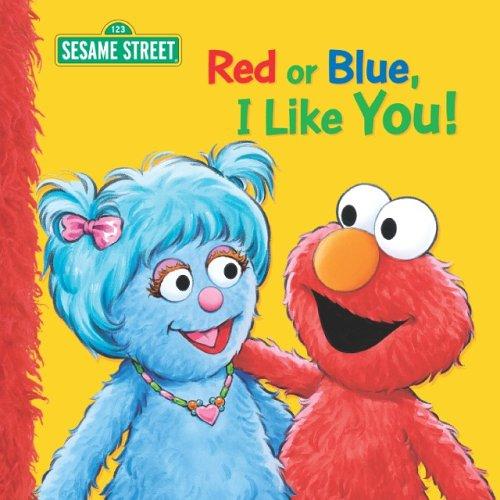 Red or Blue, I Like You! (Sesame Street), Dalmatian Press