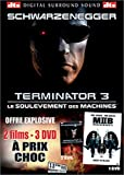 echange, troc Terminator 3 - Édition Collector 2 DVD / Men in Black II - Bipack 3 DVD