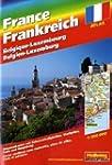 Stra�enatlas Frankreich, Korsika 1 :...