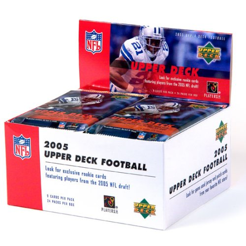 Buy 2005 Upper Deck Football Cards Unopened Box (24 packs) (Upper Deck ,Lighting & Electrical, Electrical, Circuit Breakers Fuses & Load Centers)