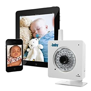 WiFi Baby (2012 Version) - iPhone, iPad, Android, Mac, PC Baby Monitor. Wireless Video, Audio, Alerts. Anywhere. (WFBYMK4-N)