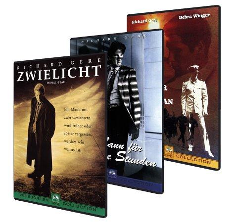 Richard Gere-Box (Zwielicht & Ein Mann für gewisse Stunden & Ein Offizier und ein Gentleman, 3 DVDs)