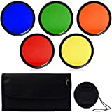 52mm Color Filter Blue Yellow Orange Red Green + Lens Cap + 6 slot Case for Nikon D7100 D7000 D5200 D5100 D3200 D3100 D3000 D90 D4 D3X D800 D700 D600 D300S D300 D7100 D7000 D5200 D5100 D5000 D3200 D3100 D3000 D90 D80 D70 D60 D50 D40 LF68