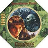 The Lord of the Rings - The Fellowship of the Ring Round Puzzle (1000 pieces)by Ravensburger