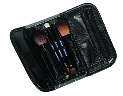Royal & Langnickel Travel Essentials 5-Piece Cosmetic Brush Travel Set (Purple) from Royal & Langnickel