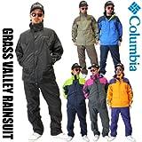Columbia / コロンビア / ジャケット レインウェア オムニテック レインコート <br>ユニセックス <BR>PM0086 <br>グラスバレーレインスーツ (雨具) <BR>GRASS VALLEY RAINSUIT 男性用XS245/Major
