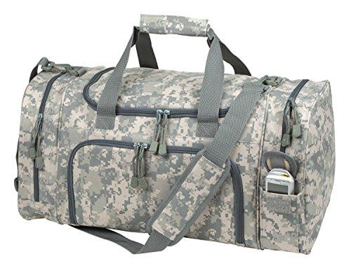 Travel ACU Duffel Bag Camouflage Duffle Gym Bag, Luggage, Tote 21