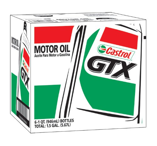 Castrol Gtx 5w 20 Conventional Motor Oil From Castrol At
