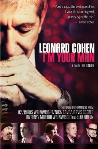 "Леонард Коэн ""I'm Your Man"" / Leonard Cohen: I'm Your Man (Лайан Лансон /Lian Lunson) [2005, Documentary / Biography / Music, DVDRip]"