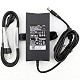 ZHIY AC Adapter Charger for Dell Precision M20 M60 M70 M90 M2400 M4400 M4500 M6300 LA130PM121 DA130PE1-00 130W 19.5V 6.7A Laptop Power Supply Adapter Cord
