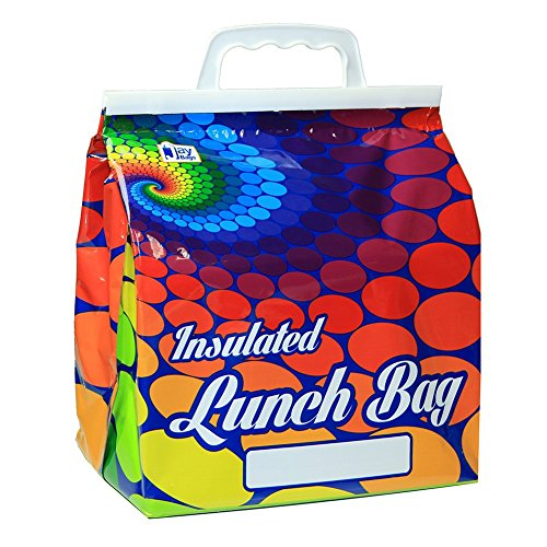 Insulated Lunch Bag as Seen on TV - Ideal Cooler Bag for Carrying Lunches to School and any Food to Picnics or Beach Parties - Reusable, Durable and