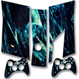 Abstract 10119, Snuggle Edition, Sticker for XBOX 360 Slim Game Console.