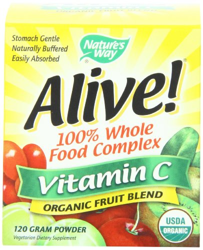Nature'S Way Alive! Organic Vitamin C 120G, Powder