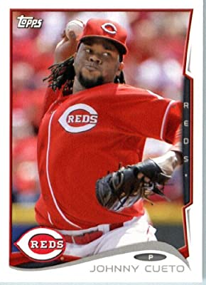 2014 Topps Team Edition Baseball Card Johnny Cueto Cincinnati Reds # CIN3