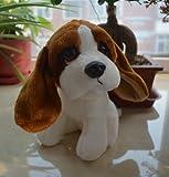 "8"" Basset Hound Dog Stuffed Plush Toy, Baby Kids Doll Gift"