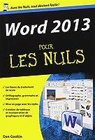 Word 2013 Poche pour les Nuls