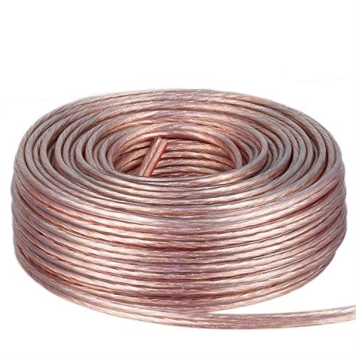 DCSk-25m-Kupfer-Lautsprecher-Boxen-Kabel-2x15mm-Ring-transparent-reines-Vollkupfer