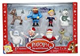 Rudolph the Red-Nosed Reindeer Main Characters PVC Figurine, Set of 8