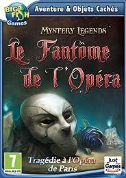 Mystery legends : le fantôme de l'opéra