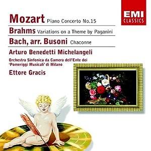 Partita No 2 Chaconne Beneditti-michelangeli by Encore