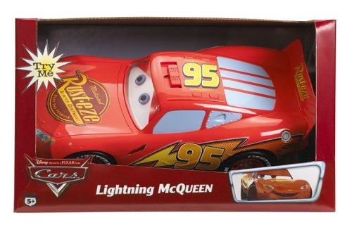 Buy Low Price Mattel Lightning McQueen Lights and Sounds – Disney Cars Figure (B000B74ELI)