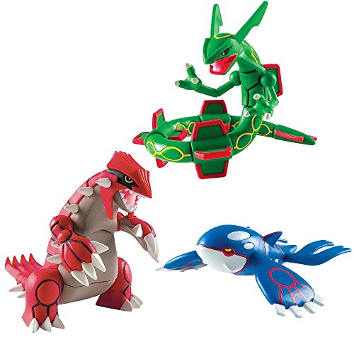 Pokemon Trainers Choice 3 Pack Legendary Figures- Groudon, Kyogre and Rayquaza (Kyogre Figure compare prices)