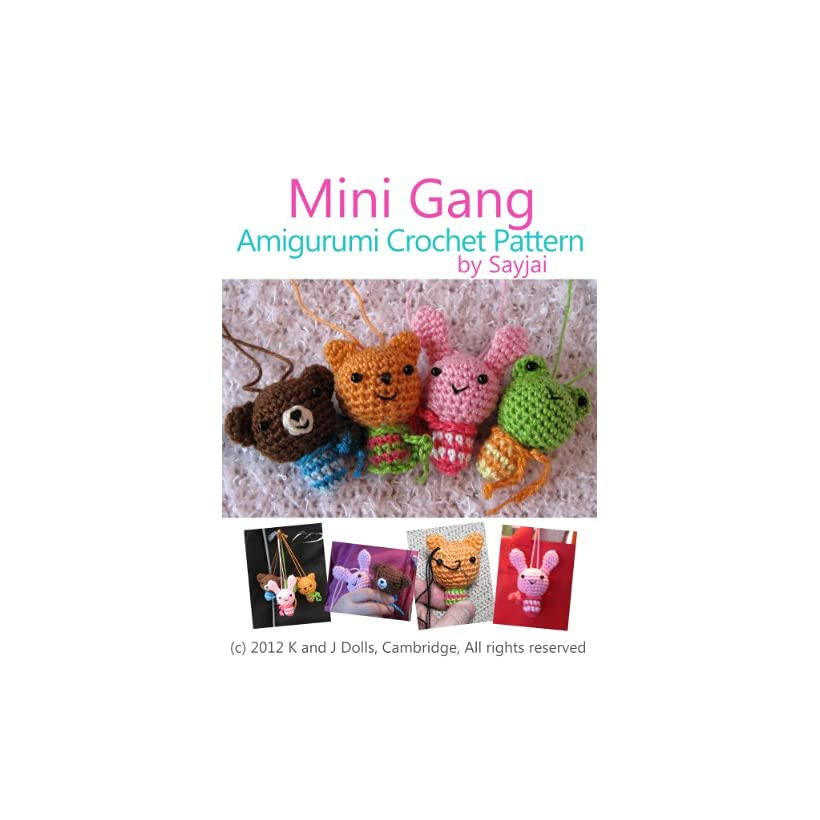 Mini Gang Amigurumi Crochet Pattern Easy Crochet Doll Patterns On