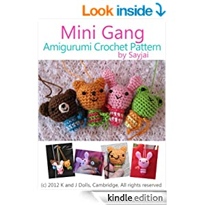 Mini Amigurumi Doll Pattern : Amazon.com: Mini Gang Amigurumi Crochet Pattern (Easy ...