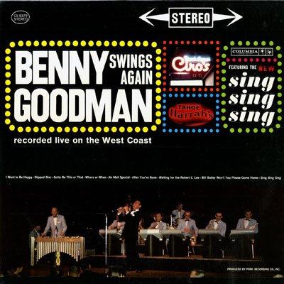 Benny Goodman - Benny Goodman Swings Again - Zortam Music