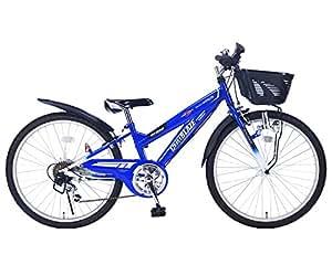 My Pallas(マイパラス) 子ども用自転車 MTB24 24インチ 6段変速 ブルー