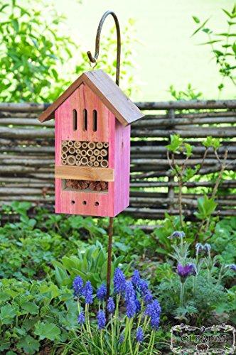 insektenhotel kombi mit halter komplett mit sch ferstock. Black Bedroom Furniture Sets. Home Design Ideas