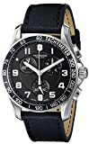"Victorinox Men's 241493 ""Chrono Classic"" Stainless Steel Watch with Black Leather Band Rating"
