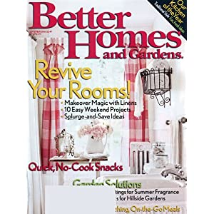Better Homes &amp; Garden Magazine