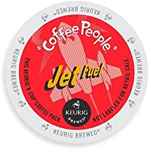 Coffee People Jet Fuel Coffee, Extra Bold, K-Cup Portion Pack for Keurig Brewers, 96-Count