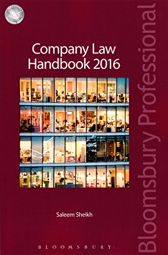Company Law Handbook 2016 (Director's Handbook)