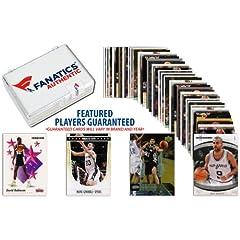 San Antonio Spurs Team Trading Card Block 50 Card Lot - Mounted Memories Certified