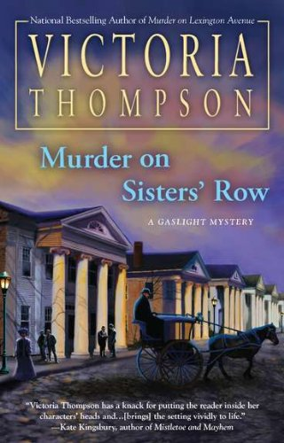 Image of Murder on Sisters' Row (Gaslight Mystery)