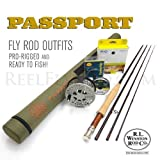 "Winston Boron IIIx 386-4 Fly Rod Outfit (8'6"", 3wt, 4pc)"