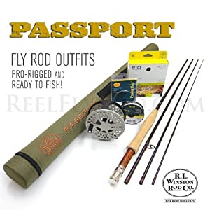 Winston Passport 376-4 Fly Rod Outfit (7