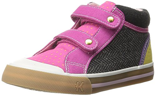 See Kai Run Girls' Kya Sneaker, Hot Pink/Gray/Berry, 9 M US Toddler (See Kai Run Shoes compare prices)