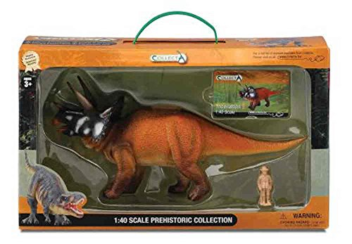 CollectA Triceratops Toy in Window Box
