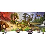 Dinosaur Magnet Board Diorama-Nearly 3' Long ~ Discovery Post