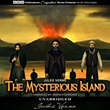 The Mysterious Island Audiobook by Jules Verne Narrated by Andrea Giordani