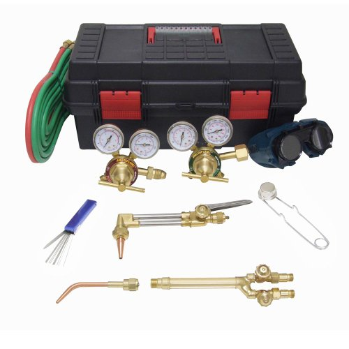 Ameriflame HS-MDU Medium Duty Outfit for Welding, Brazing and Cutting, Complete with Tool Box