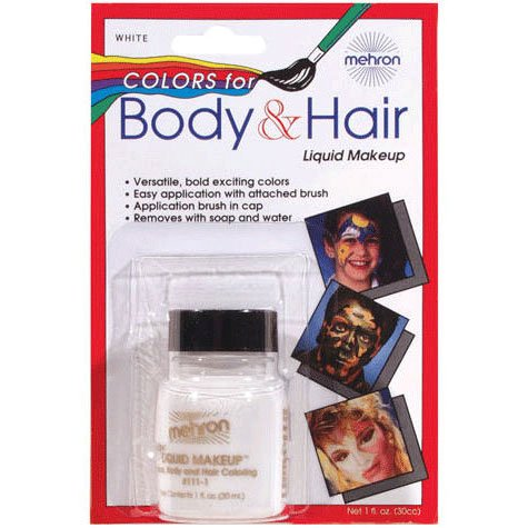 White Body & Hair Liquid - 1
