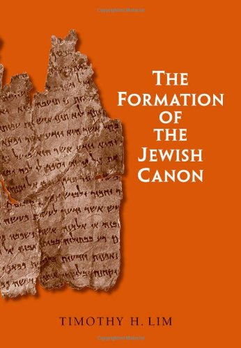 Formation of the Jewish Canon (The Anchor Yale Bible Reference Library)