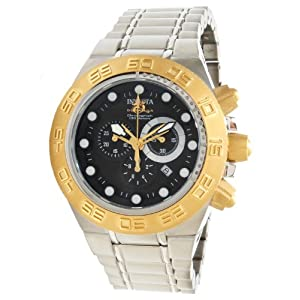 Invicta Men's 1528 Subaqua Sport Chronograph Black Dial Stainless Steel Watch