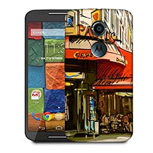 Snoogg Paris Cade Designer Protective Phone Back Case Cover For Moto X 2nd Generation
