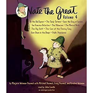 Nate the Great Collected Stories: Volume 4 Audiobook